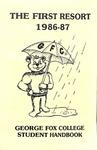 Student Handbook, 1986-1987