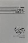 Student Handbook, 1988-1989