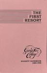 Student Handbook, 1989-1990