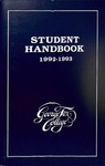 Student Handbook, 1992-1993 by George Fox University Archives