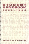 Student Handbook, 1993-1994 by George Fox University Archives