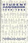 Student Handbook, 1995-1996