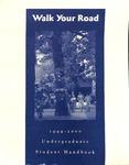 Student Handbook, 1999-2000