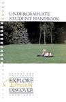 Student Handbook, 2000-2001