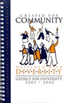 Student Handbook, 2001-2002 by George Fox University Archives