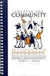 Student Handbook, 2001-2002
