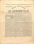 """The Academician"" Student Newspaper, May 1891"