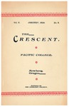 The Crescent - January 1899 by George Fox University Archives