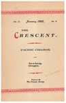 The Crescent - January 1900