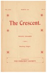 The Crescent - March 1902 by George Fox University Archives