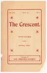The Crescent - May 1902 by George Fox University Archives