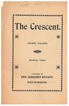 The Crescent - December 1902 by George Fox University Archives