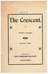 The Crescent - January 1903 by George Fox University Archives