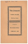 The Crescent - February 1905 by George Fox University Archives