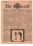 The Crescent - October 10, 1933