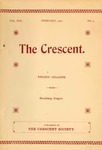 """The Crescent"" Student Newspaper, February 1902 by George Fox University Archives"