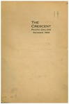 """""""The Crescent"""" Student Newspaper, December 1908 by George Fox University Archives"""