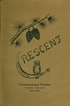 """""""The Crescent"""" Student Newspaper, June 1912 by George Fox University Archives"""