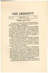 """The Crescent"" Student Newspaper, February 1904"