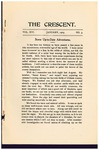 """""""The Crescent"""" Student Newspaper, January 1905 by George Fox University Archives"""