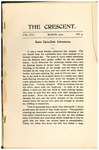 """The Crescent"" Student Newspaper, March 1905"