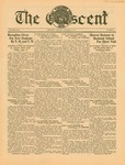 """The Crescent"" Student Newspaper, October 2, 1934"