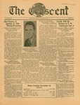 """The Crescent"" Student Newspaper, October 30, 1934"