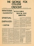 """The Crescent"" Student Newspaper, November 1, 1976 by George Fox University Archives"