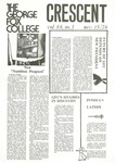 """The Crescent"" Student Newspaper, November 15, 1976 by George Fox University Archives"