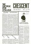 """The Crescent"" Student Newspaper, November 22, 1976"