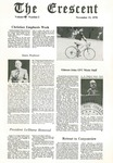 """The Crescent"" Student Newspaper, November 13, 1978 by George Fox University Archives"