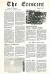 """The Crescent"" Student Newspaper, March 9, 1979"