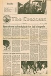 """The Crescent"" Student Newspaper, October 7, 1981 by George Fox University Archives"