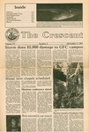 """""""The Crescent"""" Student Newspaper, December 4, 1981 by George Fox University Archives"""