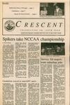 """The Crescent"" Student Newspaper, November 20, 1987"