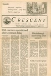 """The Crescent"" Student Newspaper, March 11, 1988"