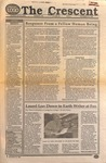 """""""The Crescent"""" Student Newspaper, November 20, 1990 by George Fox University Archives"""