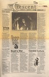 """The Crescent"" Student Newspaper, January 21, 1991"