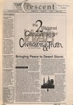 """The Crescent"" Student Newspaper, March 4, 1991"