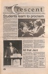 """The Crescent"" Student Newspaper, November 6, 1992 by George Fox University Archives"