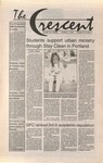 """The Crescent"" Student Newspaper, October 1, 1993"
