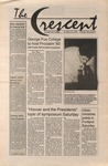 """The Crescent"" Student Newspaper, October 22, 1993"