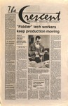 """""""The Crescent"""" Student Newspaper, January 28, 1994 by George Fox University Archives"""