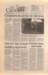 """The Crescent"" Student Newspaper, October 7, 1994 by George Fox University Archives"