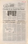 """The Crescent"" Student Newspaper, March 3, 1995 by George Fox University Archives"