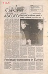 """""""The Crescent"""" Student Newspaper, March 31, 1995 by George Fox University Archives"""