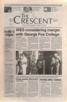 """The Crescent"" Student Newspaper, September 7, 1995 by George Fox University Archives"