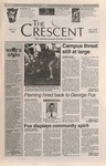 """The Crescent"" Student Newspaper, November 2, 1995 by George Fox University Archives"