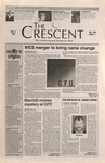 """The Crescent"" Student Newspaper, November 9 ,1995 by George Fox University Archives"
