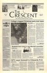 """The Crescent"" Student Newspaper, November 30, 1995 by George Fox University Archives"